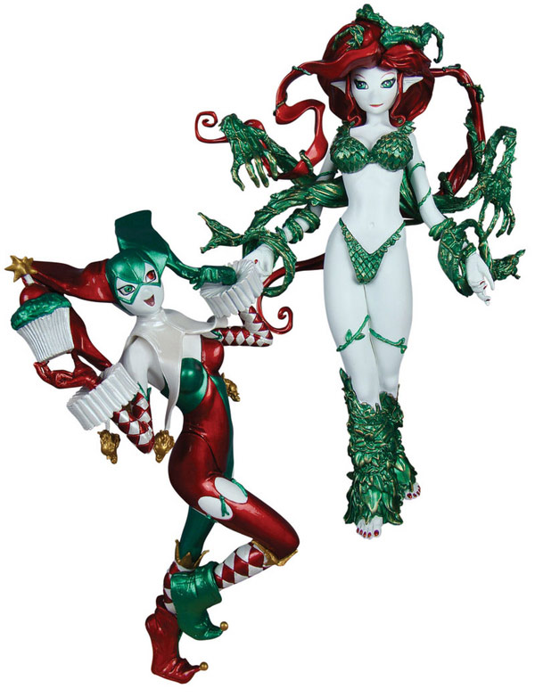 Harley Quinn and Poison Ivy Ame Comi Set