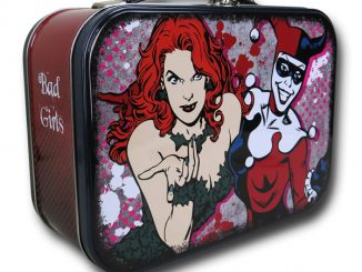 Harley Quinn and Poison Ivy Tin Lunch Box