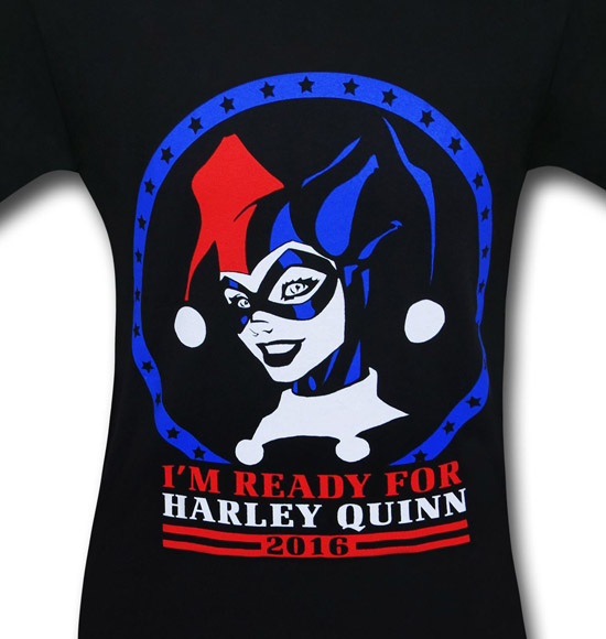 Harley Quinn for President Shirt