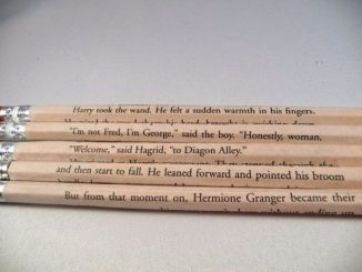Harry Potter 1 Pencil Set