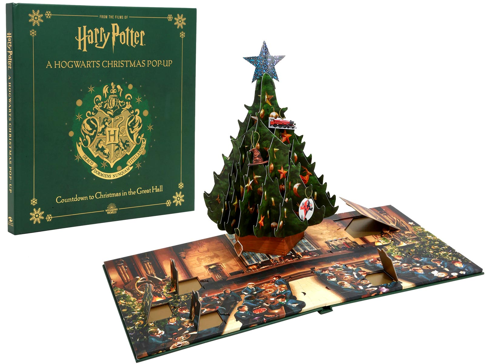Harry Potter Pop Up Christmas Tree Advent Calendar