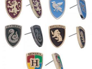 Harry Potter Crests Earring Set 5-Pack
