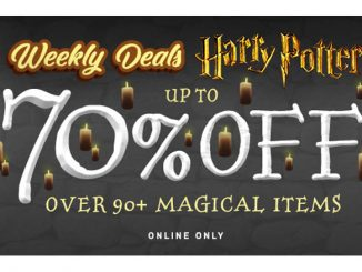 Harry Potter Deals Up to 70% Off