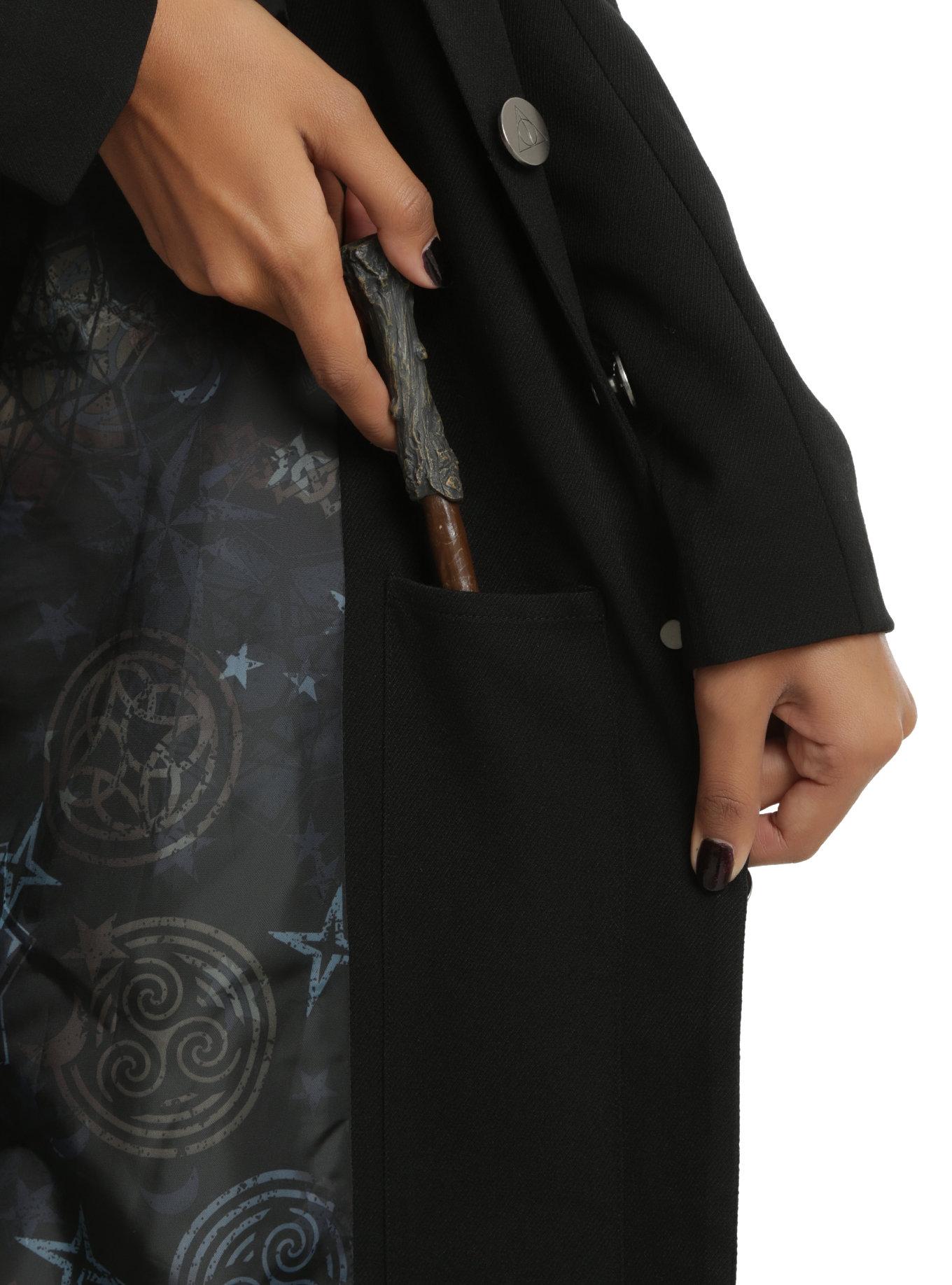 Harry Potter Deathly Hallows Girls Coat