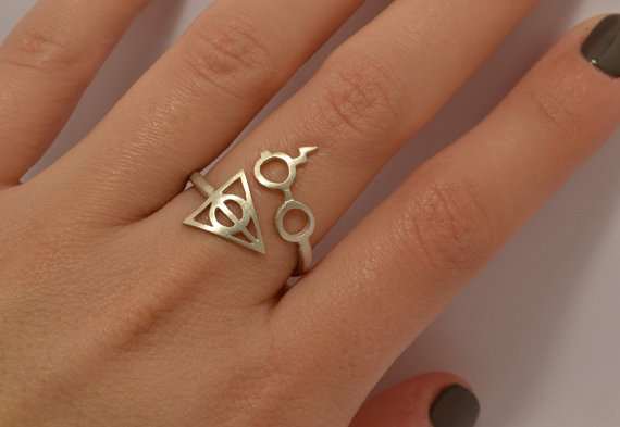 Harry Potter Deathly Hallows Ring