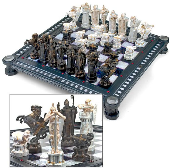Harry Potter Final Challenge Sorcerer's Stone Chess Set