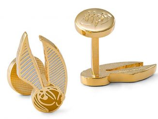 Harry Potter Golden Snitch Cufflinks