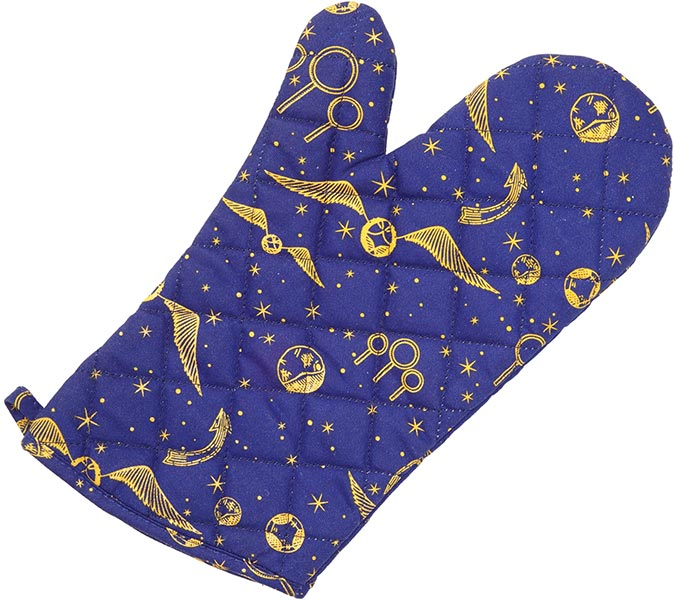 Harry Potter Golden Snitch Oven Mitt
