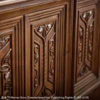 Harry Potter Great Hall Bed Detail