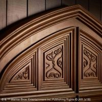 Harry Potter Great Hall Bed Detail Top