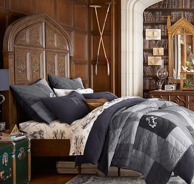 Harry Potter Bedroom Decor: Harry Potter Great Hall Bed