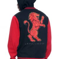 Harry Potter Gryffindor Varsity Hoodie Jacket