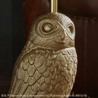 Harry Potter Hedwig Nightstand Detail