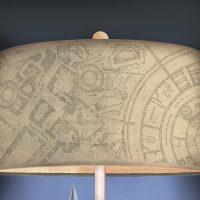 Harry Potter Hogwarts Castle Lamp Marauders Map Lampshade