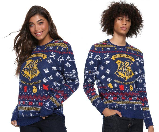 Harry Potter Hogwarts Christmas Sweater