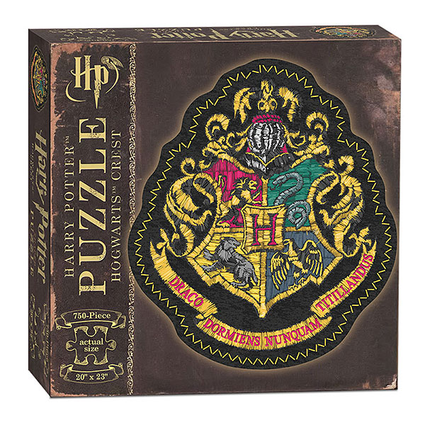 Harry Potter Hogwarts Crest Shaped Puzzle