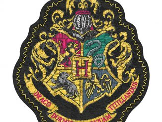 Harry Potter Hogwarts Crest Shaped Puzzle