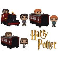 Harry Potter Hogwarts Express Vehicles with Pop Vinyl Figures