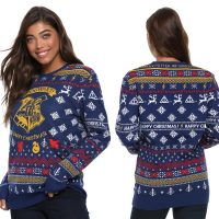 Harry Potter Hogwarts Happy Christmas Sweater