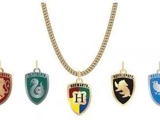 Harry Potter Hogwarts House Crest Necklace