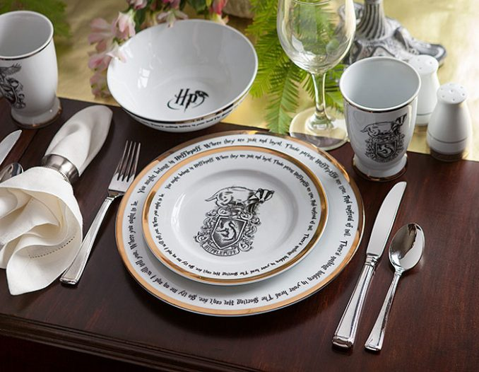 Harry Potter Hogwarts House Dinner Sets
