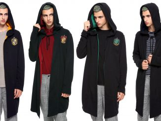 Harry Potter Hogwarts House Hoodie Cloaks