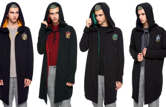 Harry Potter Hogwarts House Hoodie Cloaks