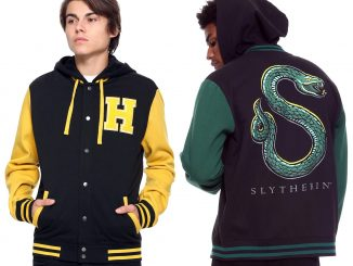 Harry Potter Hogwarts House Varsity Hoodie Jackets