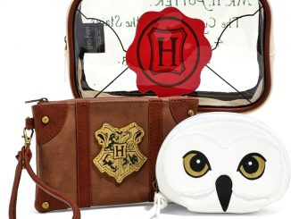 Harry Potter Hogwarts Letter Cosmetic Bags