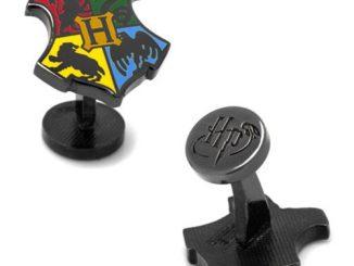 Harry Potter Hogwarts Shield Cufflinks
