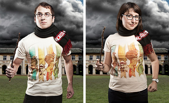 Harry Potter House Brawl T-Shirts