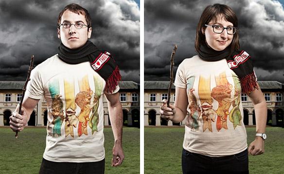 Harry Potter House Brawl T-Shirts