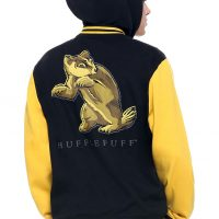 Harry Potter Hufflepuff Varsity Hoodie Jacket