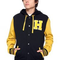 Harry Potter Hufflepuff Varsity Jacket