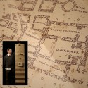 Harry Potter Movie Officially Licensed Marauder's Map