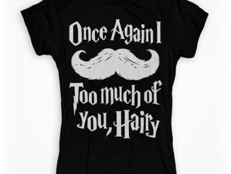 Harry Potter Mustache T-Shirt