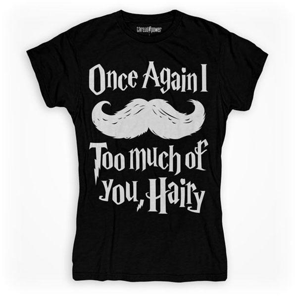 Harry Potter Mustache T-Shirt