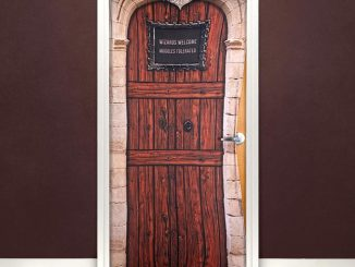 Harry Potter No Muggles Allowed Door Cover