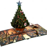 Harry Potter Pop Up Book Christmas Tree Advent Calendar