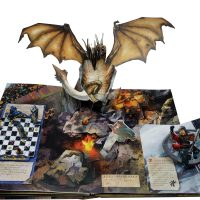 Harry Potter Pop-Up Book Dragon