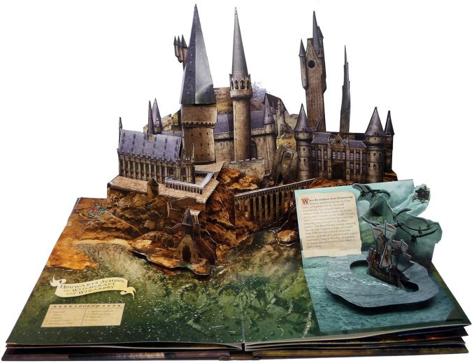 Harry Potter Pop-Up Book Hogwarts
