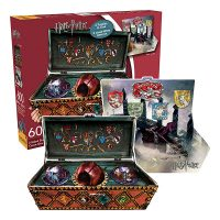 Harry Potter Quidditch Set 2-Sided Shaped Puzzle