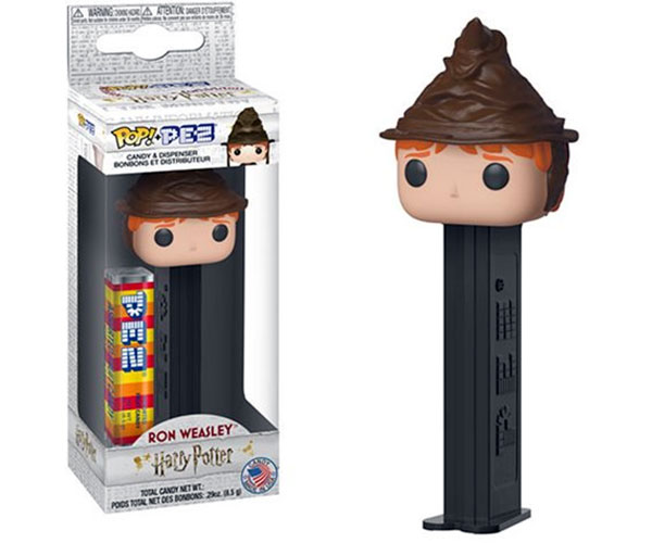Harry Potter Ron Weasley Sorting Hat Funko Pop Pez
