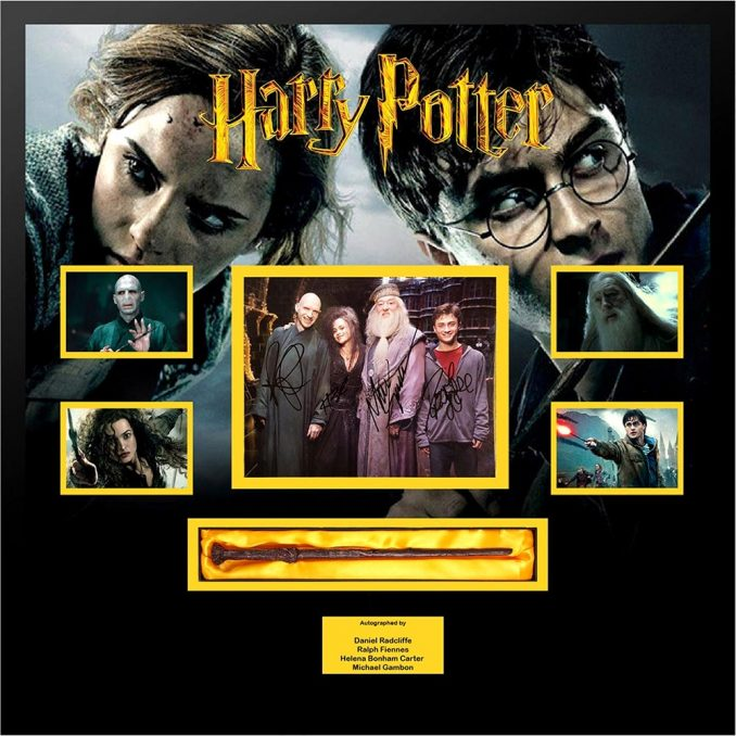 Harry Potter Signed Movie Poster