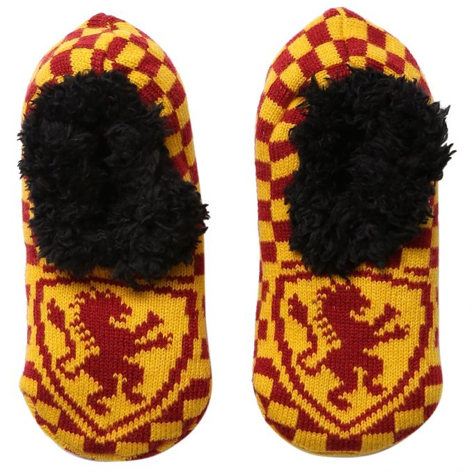 Harry Potter Slip-On Gryffindor Cozy Slippers