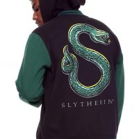 Harry Potter Slytherin Varsity Hoodie Jacket