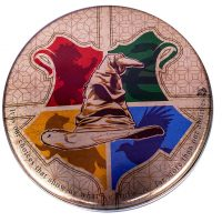 Harry Potter Sorting Hat Heat Change Coaster Tin