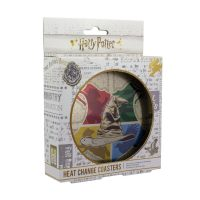 Harry Potter Sorting Hat Heat Change Coasters Box