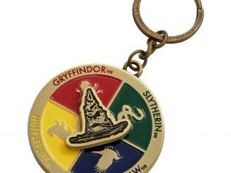 Harry Potter Sorting Hat Spinner Keychain
