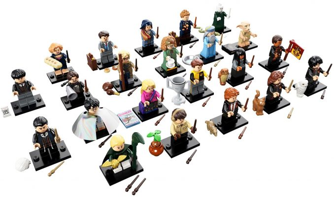 Harry Potter and Fantastic Beasts LEGO Minifigure Collection